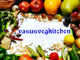 Vasu's Vegkitchen (Indian Food Blogger)